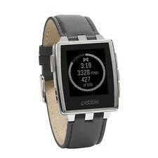 Pebble Steel 401 SMartwatch Für iPhone Und Android Geräte E-Paper Led Display