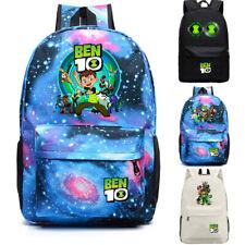 Ben 10 Reboot canvas backpack school bag kid's travel bag laptop bags rucksack