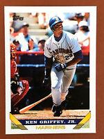 1993 Topps Ken Griffey Jr. Card #179 MINT - Mariners HOF