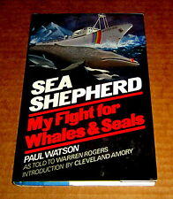 PAUL WATSON SEA SHEPHERD SHIP WHALES SEALS WHALING WARS Greenpeace Environment