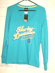 "Southside Harley-Davidson Ladies Long Sleeve ""Dual Purpose"" T-shirt Size M"