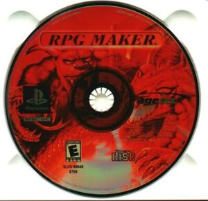 RPG Maker - Sony PlayStation 1 PS1 PSX Game Only