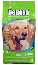Benevo Dry Dog Food ORIGINAL Complete Adult 15kg Bag Vegan Vegetarian Wheat-Free