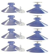50 x 42mm Suction Cup With Thumb Tack. Ideal For Displaying Posters in Windows.