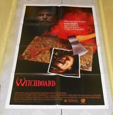 original WITCHBOARD video store poster Kevin S. Tenney Tawny Kitaen