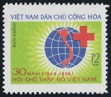 Rep Socialiste VIETNAM N°15**  Croix rouge 1976, Vietnam Sc#830 Red Cross MNH