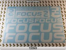 FOCUS Stickers Decals  Bicycles Bikes Cycles Frames Fork Mountain MTB BMX 55HB