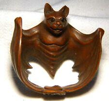 More details for netsuke  carved  boxwood bat