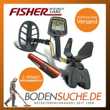 Fisher f75+ Plus Metal Detector incl. Fisher PINPOINTER - > NUOVO dal rivenditore