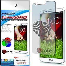 4 Film Matt for LG G2 D802 Antiglare Anti-fingerprint Films Screen