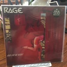 RAGE LP RUN FOR THE NIGHT  1983 NWOBHM NM/VG  UK PRESS