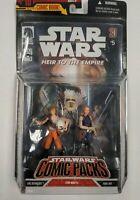 Luke Skywalker & Mara Jade Figure 2-Pack Star Wars Comic Packs 2007 Hasbro NEW