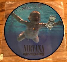 Very Rare Picture Vinyl - Nirvana - Nevermind - Limited Edition - Original