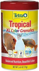 Tetra Tetracolor Tropical XL Color Gránulos 2.65 Peces Comida Hermoso Gránulo
