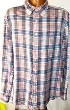 Gant Campus Store Yale Co-op Mens 2XL Archive Madras Fitted GC!!!