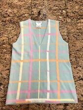 CHANEL Blue Cashmere Vest
