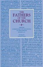 Fathers of the Church Patristic: Commentary on the Epistle to the Romans,...