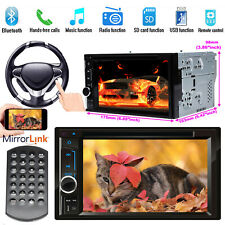 "for Nissan NAVARA 2007-2015 D40 Car CD DVD Head Unit Stereo Bluetooth 6.2"" 2 DIN"