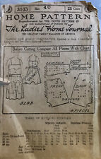 """Antique Home Pattern 1920's Camisole 3103 40"""" B Unused Complete"""