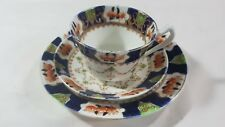 Vintage ROYAL STAFFORD Pattern Tea Set Trio in Blue & White