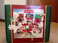 NEW Fisher Price Little People Christmas on Main Street Carols NIB Retired B5861