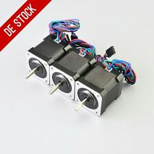 3PCS Schrittmotor Nema 17 Stepper Motor 59Ncm 2A 4-wire 1m Cable 3D Printer CNC