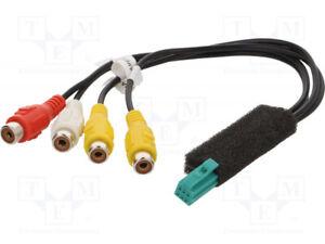 4CARMEDIA CONN.Clarion.01 Connector; RCA; Clarion; PIN: 6 'UK COMPANY 1983'