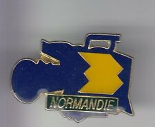 RARE PINS PIN'S .. TV RADIO FR3 FRANCE 3 PRESSE CAMERA NORMANDIE ROUEN 76 ~DD