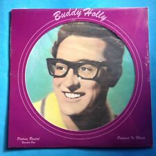 """Buddy Holly-Picture Record Number One-12"""" PICTURE DISC-1979 Solid Smoke  SEALED"""