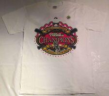 Vintage Chicago White Sox 2005 World Series Champion White T-Shirt 2XL