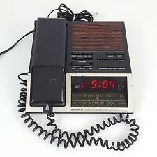 RARE Vintage Spartus Phone Alarm Clock Radio AM FM Model Number 0206-64