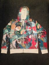 Damien Hirst Art Spin Multi Colour Jacket Levi Signed In Stitch & Banksy Photo