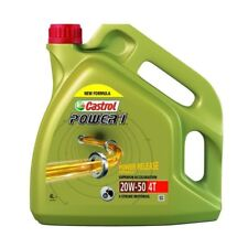 HUILE MOTO CASTROL POWER1 SEMI SYNTHESE 4T 20W50 4L PE_36010222 MOTOMIKE 34