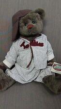 "Ganz Cottage Collectibles Bear Slugger 14"""