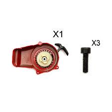 Minimoto Démarrage Facile Mini Moto Rouge Démarreur Tirer Dirtbike Dirt Quad 49