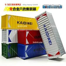 "Rare 1:64 20ft KDW Alloy Metal Container DIECAST MODEL 1/50 13cm 5"" Ramdon Color"