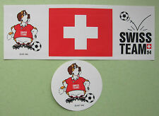 lot 2 stickers Swiss Team 1994 FIFA World Cup - USA
