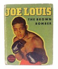 1936 JOE LOUIS The Brown Bomber Whitman #1105 Big Little Book BLB excellent