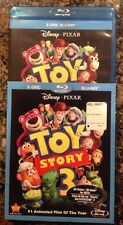 Toy Story 3 (Blu-ray Disc, 2010, 2-Disc Set) Authentic US Release Scratch Free
