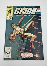Marvel G.I. Joe A REAL AMERICAN HERO #21 1984 Silent Issue 1st Storm Shadow 1274