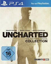 Uncharted: The Nathan Drake Collection (Sony PlayStation 4) VORBESTELLEN neuware