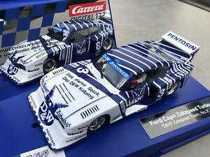 """Carrera Digital 132 30887 Ford Capri Zakspeed Turbo """"D&W-Zakspeed Team No. 3"""""""