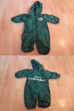 Infant/Baby Green Bay Packers 6/9 Mo Hooded Jacket Outfit Romper