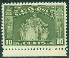 EDW1949SELL : CANADA 1934 Scott #209 A Beautiful Extra Fine, Mint NH Cat $52.00