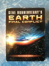 Gene Roddenberry's Earth Final Conflict Season 1 2009, 5-Disc DVD Set Free Ship.