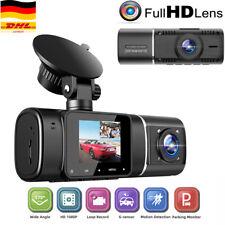 TOGUARD 1080P FHD Auto Dashcam Kamera IR Nachtsicht DASH CAM Recorder Dual Lens