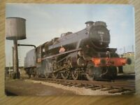 POSTCARD LMS BLACK FIVE CLASS LOCO NO 5231 3RD VOLUNTEER BATTALION AT LOUGHBOROU