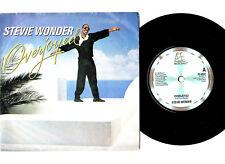 """MOTOWN.STEVIE WONDER.OVERJOYED / SAME (INSTR).UK ORIG 7"""" & PIC/SL.EX"""