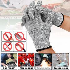 1 Pair Metal Mesh Butcher Anti Cut Glove Stab Resistant Safety Gloves Kitchen Us