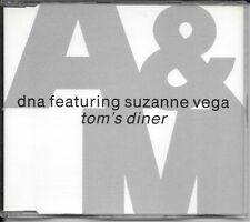 MAXI CD 4 TITRES--DNA FEAT SUZANNE VEGA--TOM'S DINER--1990